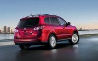 2011 Hyundai Santa Fe, Back view. , exterior, manufacturer