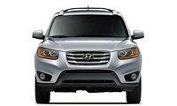2011 Hyundai Santa Fe, Front View. , exterior, manufacturer