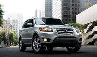 2011 Hyundai Santa Fe, Front quarter view. , exterior, manufacturer