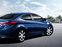 2011 Hyundai Elantra, Back three quarter view. , exterior, manufacturer