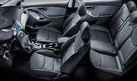 2011 Hyundai Elantra, Front and Back Seats. , manufacturer, interior