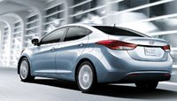 2011 Hyundai Elantra, Back quarter view. , exterior, manufacturer, gallery_worthy