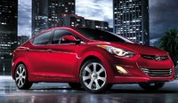 2011 Hyundai Elantra, Front three quarter view. , exterior, manufacturer, gallery_worthy