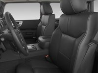 2009 Hummer H2 SUT, Front Seats. , interior, manufacturer
