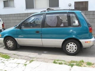 Picture of 1993 Mitsubishi Expo 2 Dr LRV Hatchback, exterior
