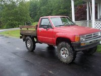 1988 Toyota Pickup, weapon 88 yota with 34-9.5s tls super swampers, exterior