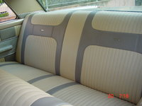 1962 Mercury Monterey, Rear seats. Please take place and enjoy!, interior