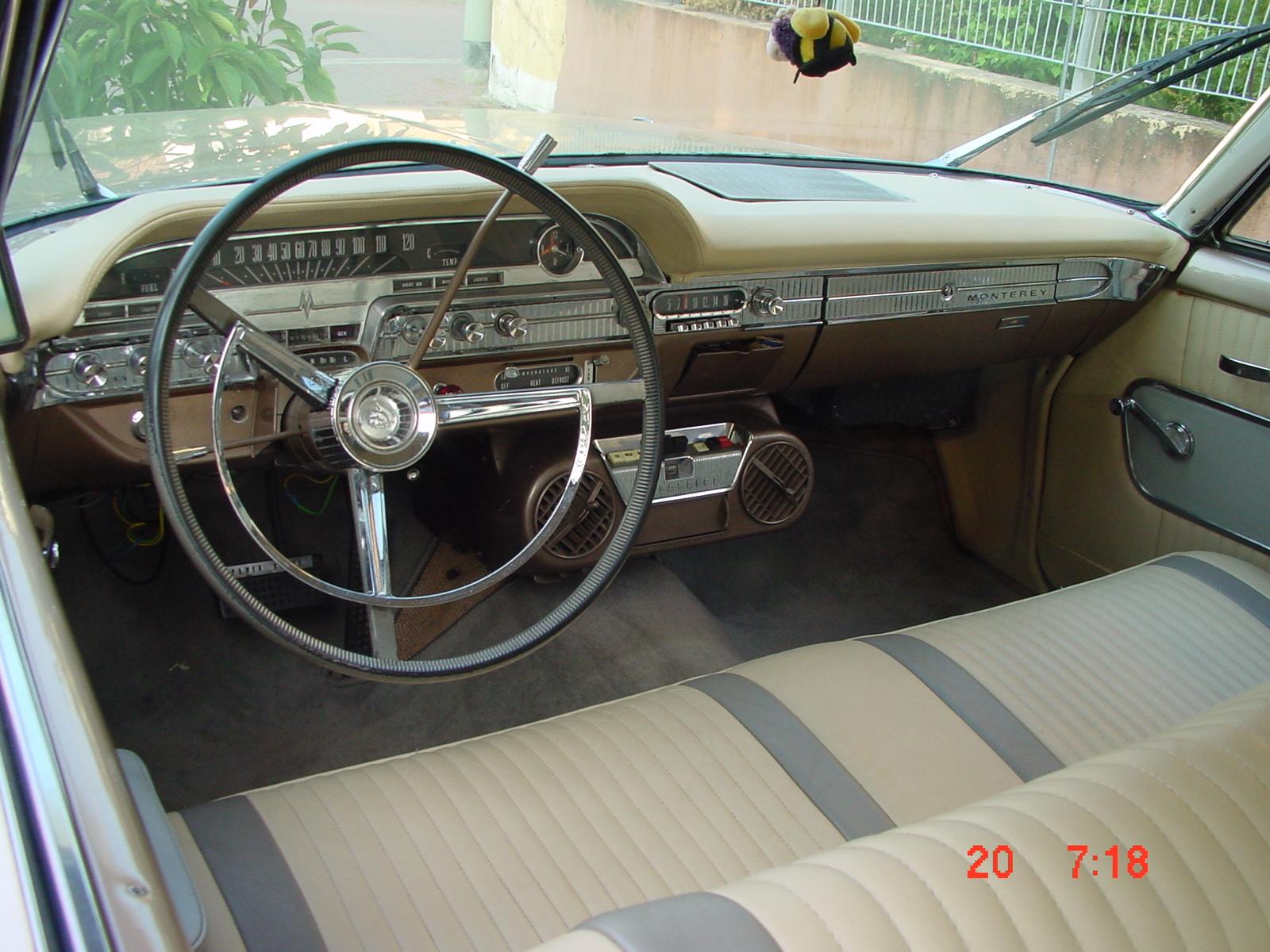 1962 mercury monterey interior pictures cargurus