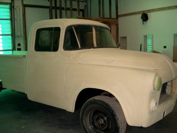 1956 Dodge Power Wagon My Truck In Its Final Coat Of Yellow Primer Exterior