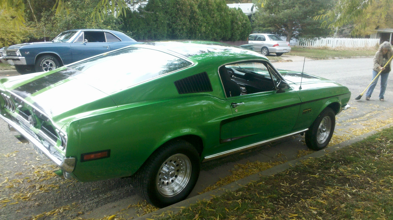 picture of 1968 ford mustang fastback exterior. Cars Review. Best American Auto & Cars Review