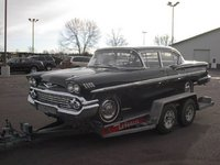 1958 Chevrolet Bel Air, 1958 bel air four door, exterior