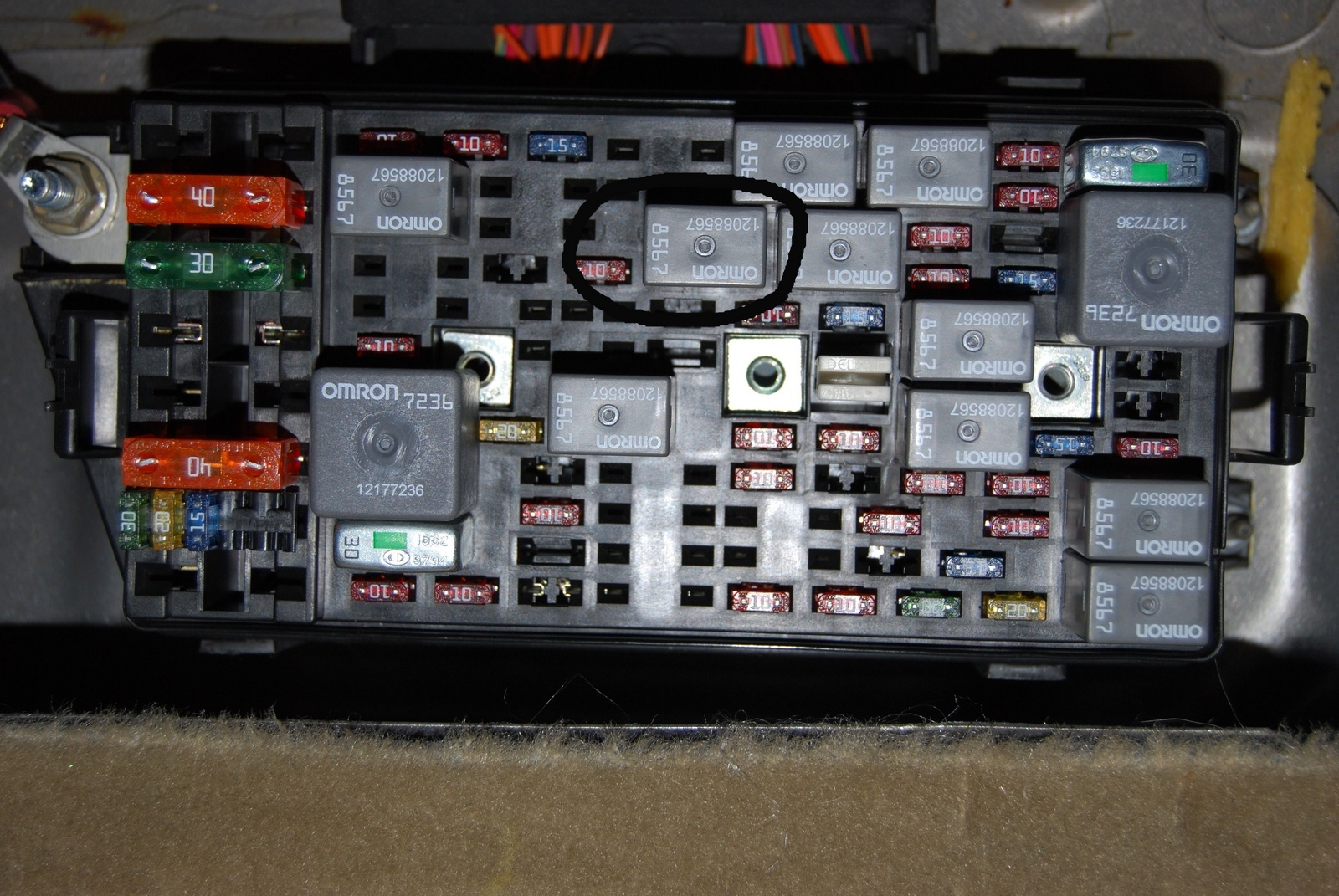 Fuse Box On 2000 Buick Lesabre Wiring Diagrams Scematic 2011 Lucerne Inside Diagram 94 Century Location 1993