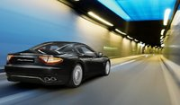 2011 Maserati GranTurismo, Back View in motion. , exterior, manufacturer