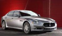 2009 Maserati Quattroporte, Front three quarter view. , exterior, manufacturer