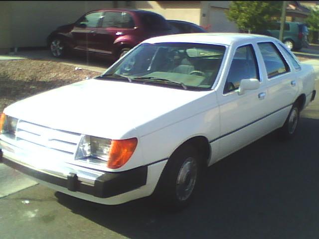 Ford Tempo 1990. 1984 Ford Tempo picture,