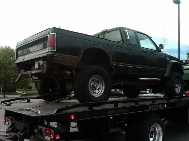 1988 Chevrolet S-10, Got bumper?  Want a custom built in hitch to go with.  Also, anyone know of a better alternative to Bushwackers?, exterior, gallery_worthy