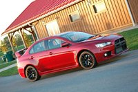 2008 Mitsubishi Lancer Evolution GSR picture, exterior