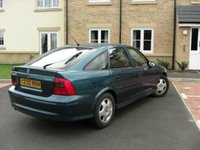 Picture of 2001 Vauxhall Vectra, exterior