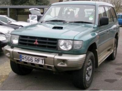 Picture of 2007 Mitsubishi Shogun, exterior