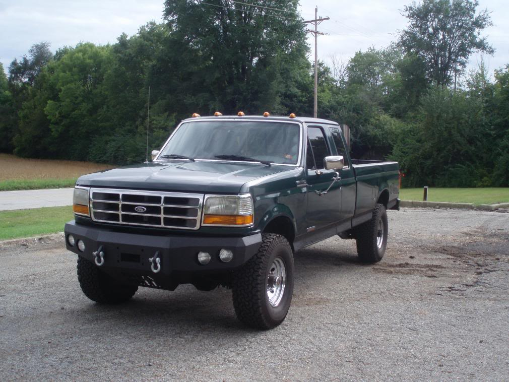 96 Ford F-250 Extended Cab Truck
