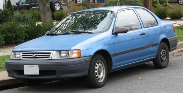1991 Toyota Tercel - Overview