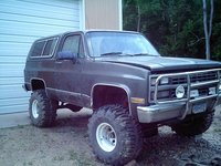 1991 Chevrolet Blazer Silverado 2-Door 4WD, It hasn't moved for quite a while, exterior, gallery_worthy