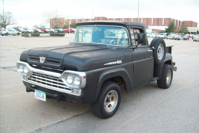 1960 Ford F-100, toys for tots cruise, gallery_worthy
