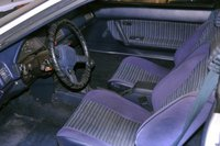 1986 Toyota Celica GT liftback, Interior , interior