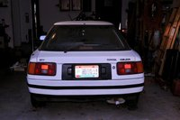 1986 Toyota Celica GT liftback, Rear, exterior