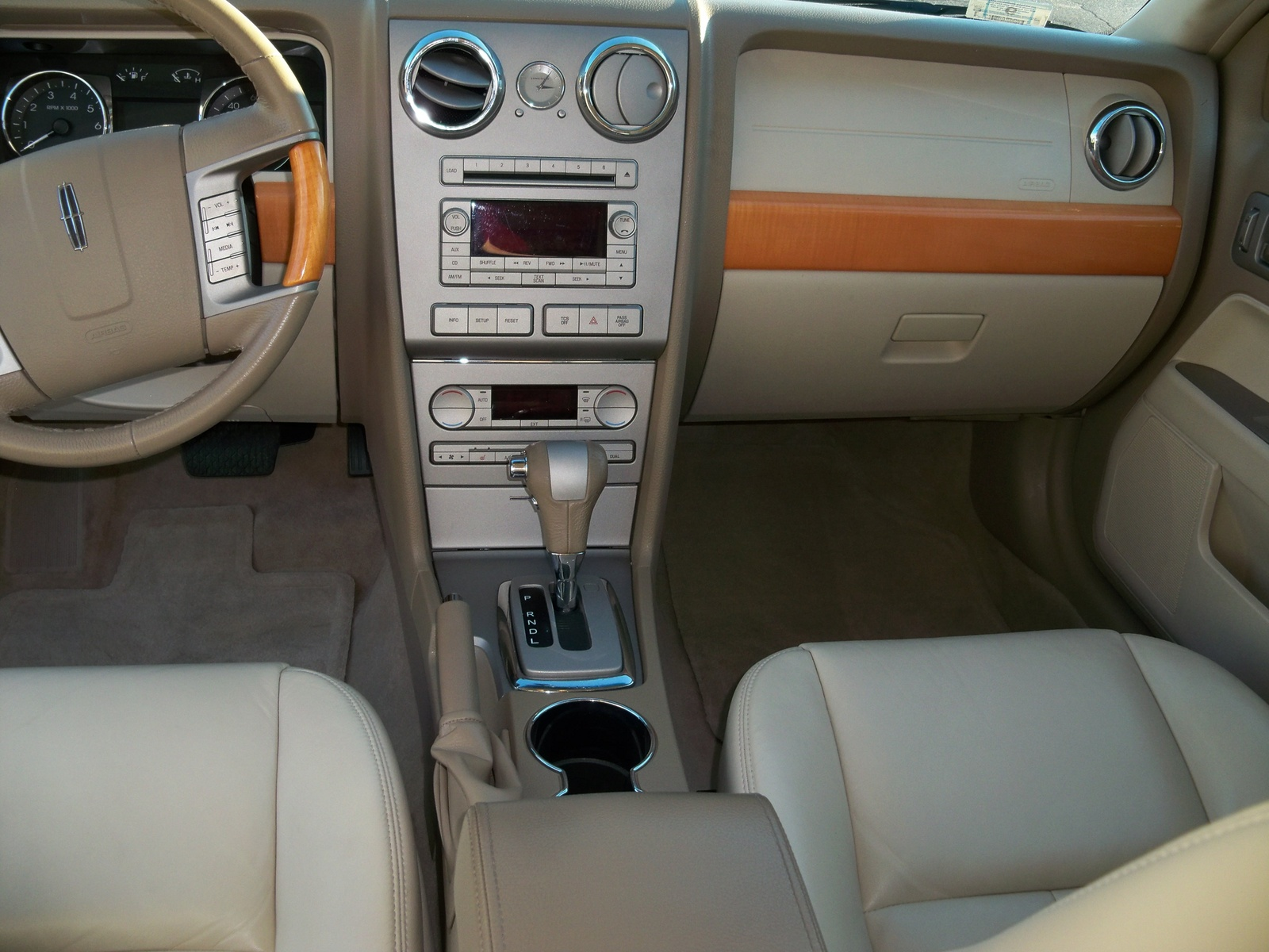2007 lincoln mkz interior pictures cargurus