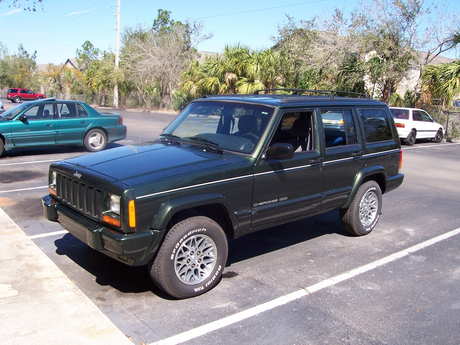 1997 Jeep Cherokee Country Manual