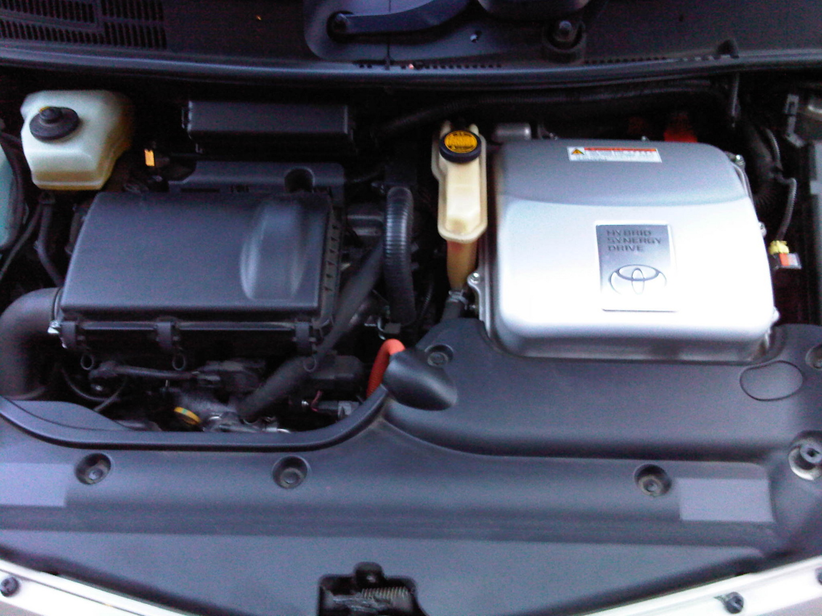 Picture of 2008 Toyota Prius Base, engine