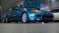 Picture of 1993 Honda Civic VX Hatchback, exterior, engine