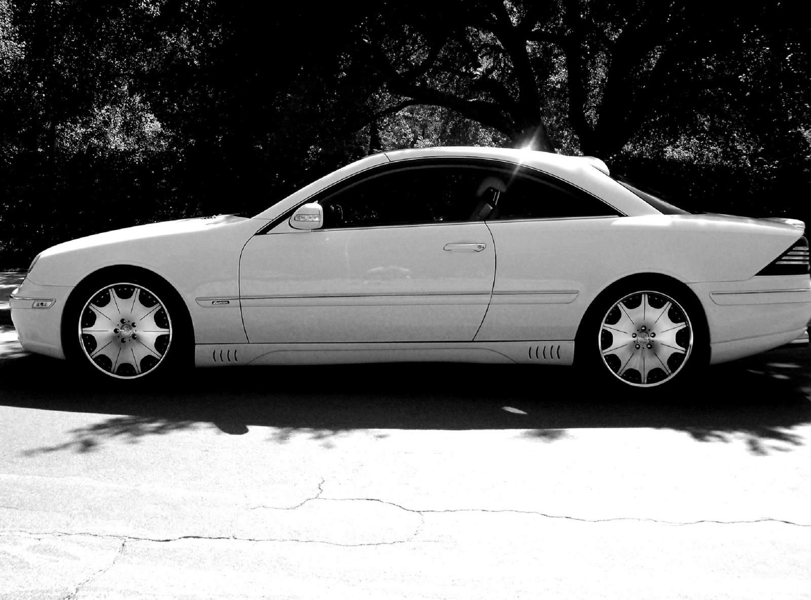 Mercedes Cl500 Coupe