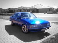 1982 Holden Commodore, before it recived a scoope and bonnet paint, exterior