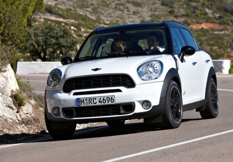 2011 MINI Countryman, Three quarter view. , exterior, manufacturer