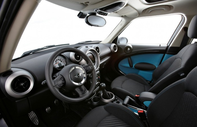 2011 MINI Countryman, Front seat view. , interior, manufacturer
