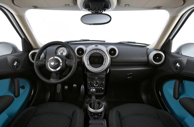 2011 MINI Countryman, Front Seat. , interior, manufacturer