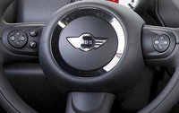 2011 MINI Countryman, Steering wheel with close-up on controls., manufacturer, interior
