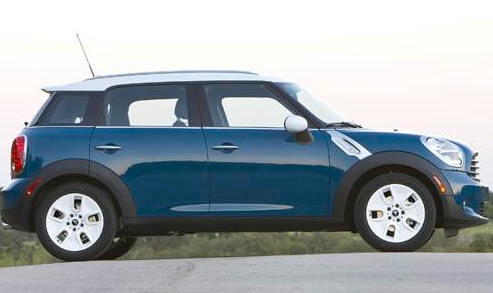 2011 MINI Countryman, Side View. , manufacturer, exterior