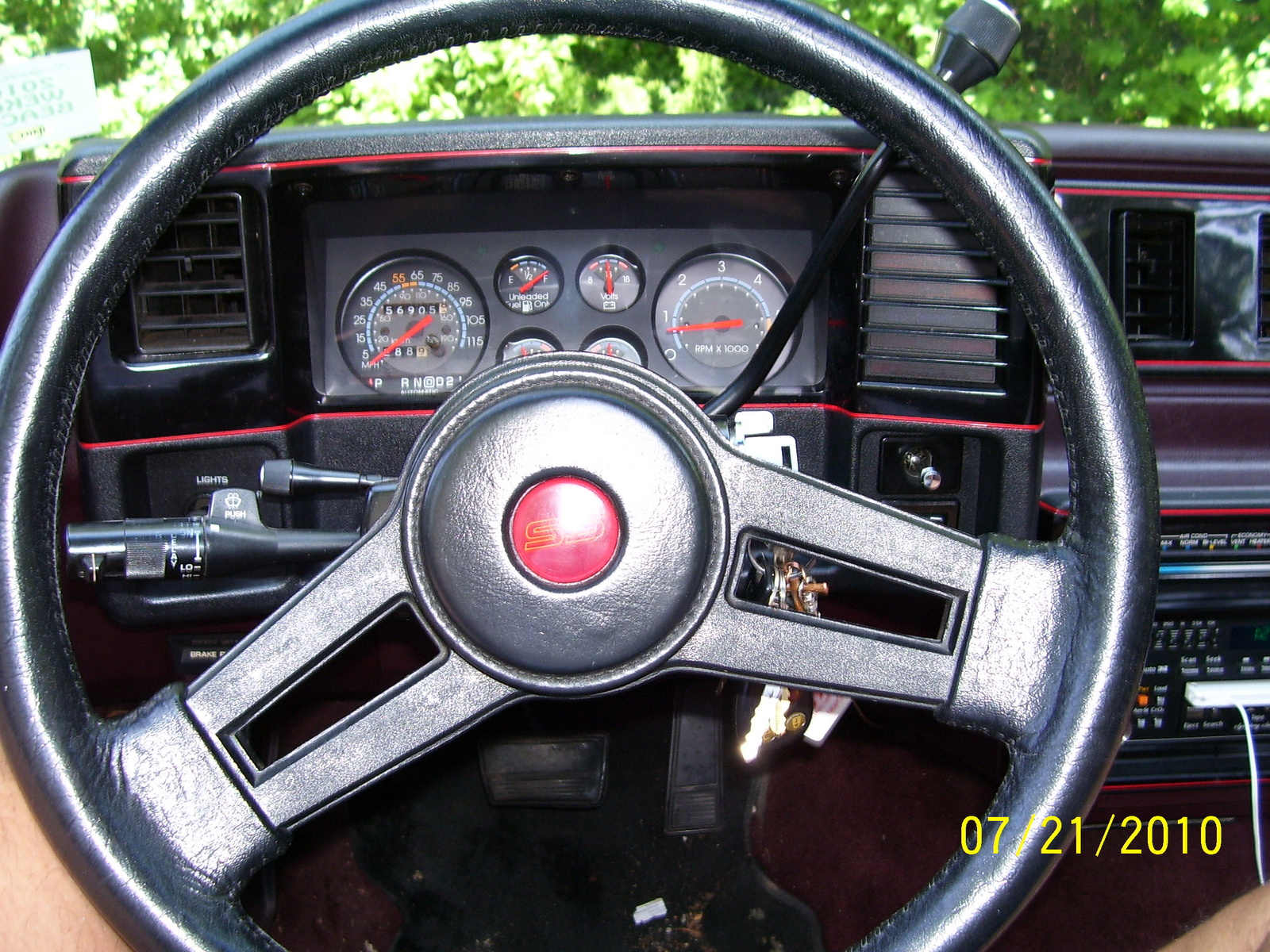 1987 Monte Carlo Autos Post