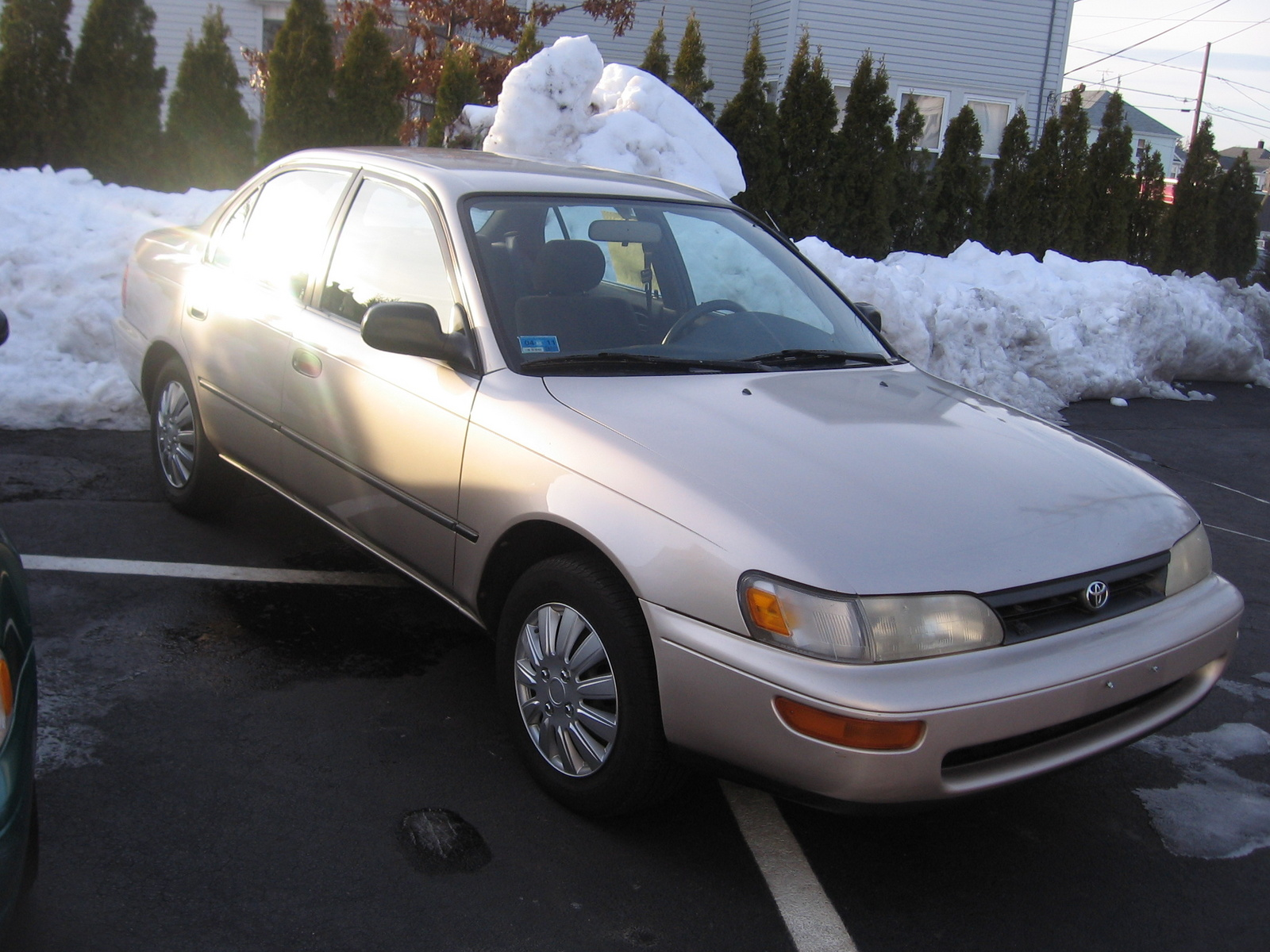 1994 Toyota Corolla Dx Picture Of 4 Dr Sedan