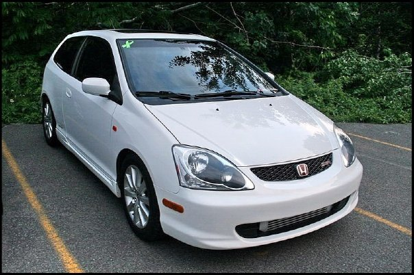 2004 Honda Civic Si Hatchback,