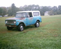 1970 International Harvester Scout, 1970 800a 304v8 3spd 43K original miles, exterior