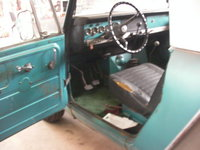 1970 International Harvester Scout picture, interior