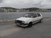 1992 Volkswagen Golf 4 Dr GL Hatchback, The beast, exterior