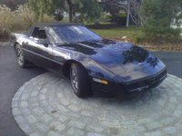 1987 Chevrolet Corvette Convertible, .