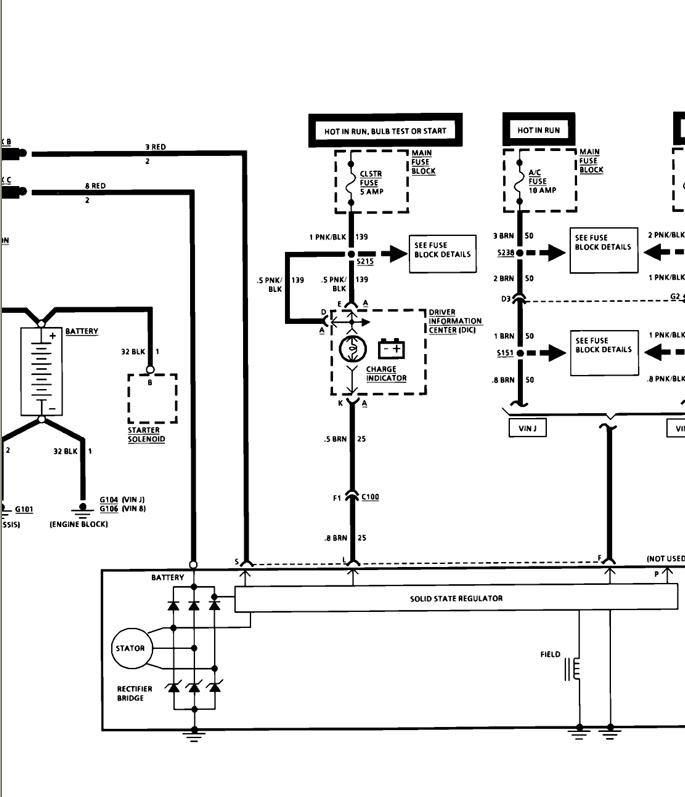 1978 chevy alternator wiring diagram