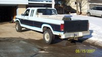 1985 Ford F-250, my $10 craigslist tailgate and free toolbox, exterior