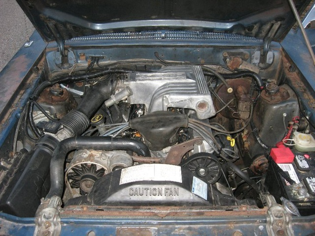 1981 Ford Fairmont, The car is done, engine, gallery_worthy